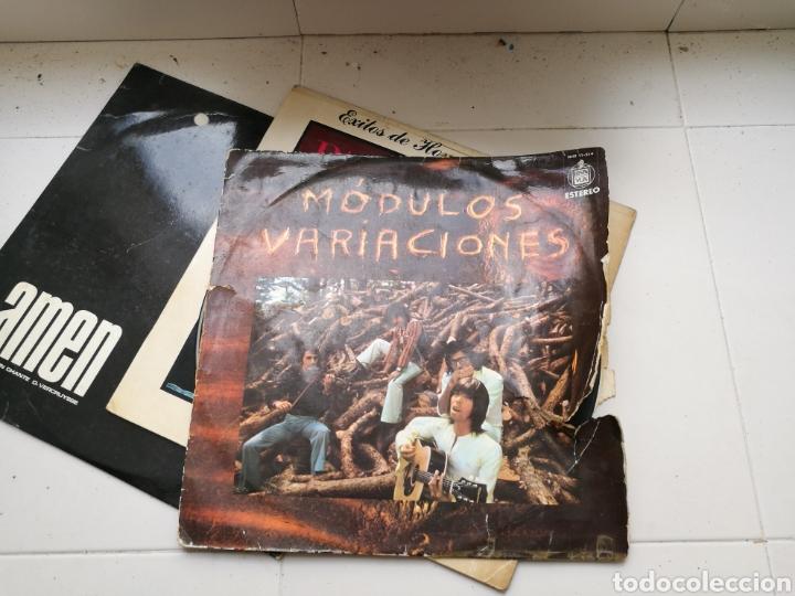 Discos de vinilo: Lote de 7 discos de vinilo antiguos. Marvin Gaye, pasodobles, Antonio Machín, etc - Foto 5 - 83936375