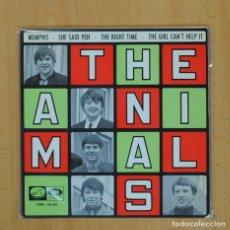 Discos de vinilo: THE ANIMALS - MEMPHIS + 3 - EP. Lote 83937762