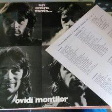 Discos de vinilo: OVIDI MONTLLOR LP UN ENTRE TANTS...1972. Lote 83940772