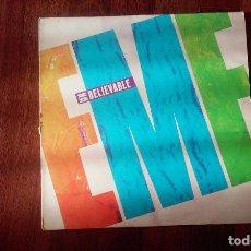 Discos de vinilo: EMF-UNBELIEVABLE.MAXI ESPAÑA. Lote 83994164
