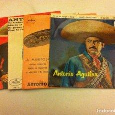 Discos de vinilo: ANTONIO AGUILAR -LOTE DE 4. Lote 84003712