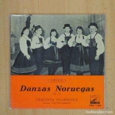 Disques de vinyle: WALTER SUSSKIND - DANZAS NORUEGAS OP 35 - EP. Lote 84004088