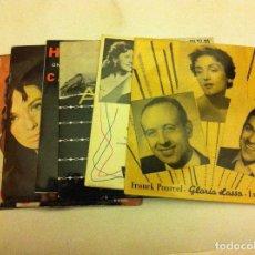 Discos de vinilo: CANTANTES FRANCESES -LOTE DE 7. Lote 84008212