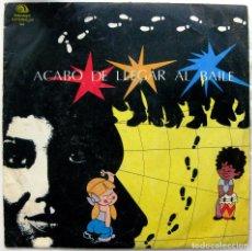 Discos de vinilo: ORQUESTA ORIGINAL DE MANZANILLO - ACABO DE LLEGAR AL BAILE - LP SIBONEY 1988 CUBA BPY. Lote 84014472
