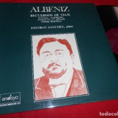 Discos de vinilo: ESTEBAN SANCHEZ PIANO ALBENIZ LP 1975 ENSAYO EDICION ESPAÑOLA SPAIN. Lote 84016052
