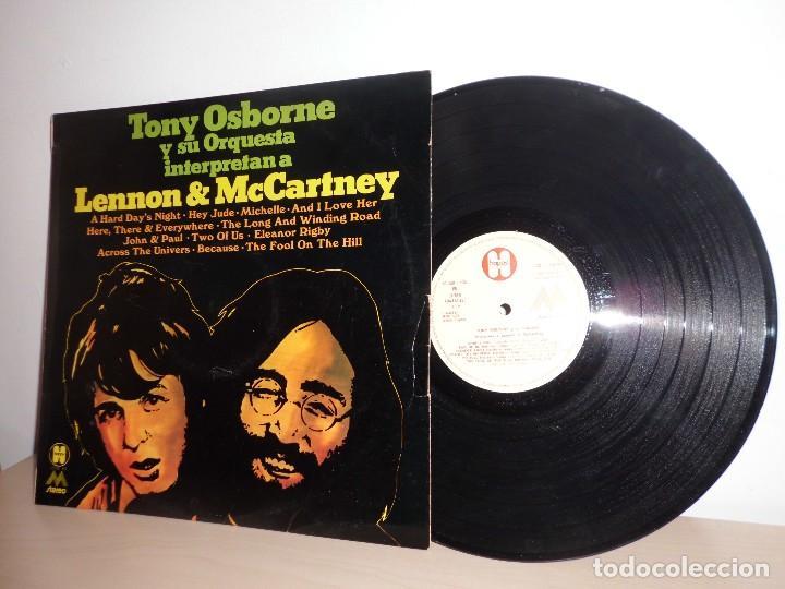 TONY OSBORNE Y SU ORQUESTA INTERPRETAN A LENNON MCCARNEY- EMI ODEON - MADE SPAIN- AÑO 1972 -HAPPY (Música - Discos - LP Vinilo - Bandas Sonoras y Música de Actores )