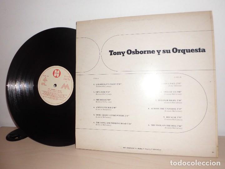 Discos de vinilo: TONY OSBORNE Y SU ORQUESTA INTERPRETAN A LENNON McCARNEY- EMI ODEON - MADE SPAIN- AÑO 1972 -HAPPY - Foto 2 - 84017868