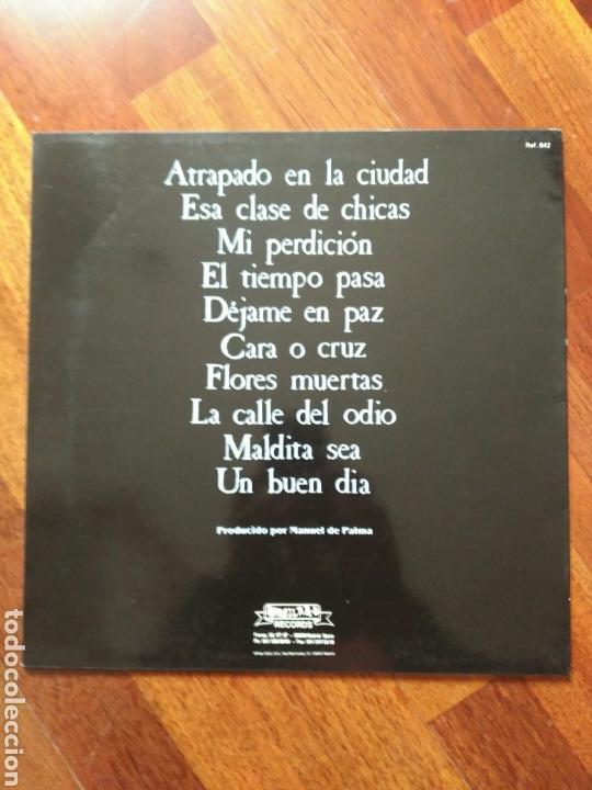 Discos de vinilo: Los Malditos Flores Muertas (letras y nota prensa) - Foto 2 - 84034960