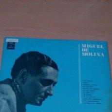 Discos de vinilo: MIGUEL DE MOLINA - SERIE AZUL - - BUEN ESTADO - VER FOTOS. Lote 84067860