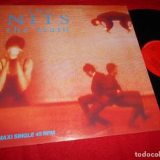 Discos de vinilo: THE NITS THE TRAIN/HOOK OF HOLLAND/HANDS OF THE WATCH +1 12 MX 1989 SPAIN PROMO ESPAÑA. Lote 84112300