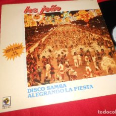 Discos de vinilo: LOS JOAO DISCO SAMBA/ALEGRANDO LA FIESTA 12 MX 1983 BELTER ESPAÑA SPAIN LATIN MEDLEY . Lote 84113804