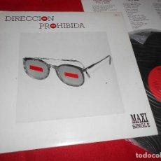 Discos de vinilo: DIRECCION PROHIBIDA EL FACTOR SORPRESA/EIGHTH DAY (SIC) +2 12 MX 1986 MOVIDA POP. Lote 84115972