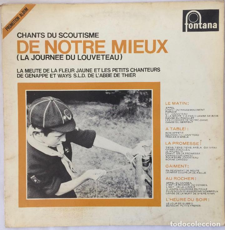 CHANTS DU SCOUTISME , DE NORTE MIEUX 1967_ FOLK (Música - Discos - LP Vinilo - Country y Folk)