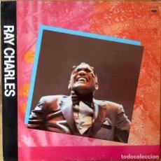 Discos de vinilo: RAY CHARLES : I WAS ON GEORGIA TIME [ESP 1989]. Lote 84127388