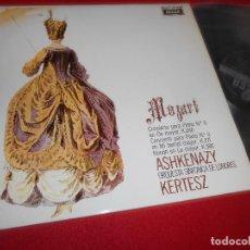 Discos de vinilo: SINFONICA DE LONDRES DIR. KERTESZ MOZART PIANO 8 K.246 Y 9 K.271 Y K.386 ASHKENAZY LP 1970 SPAIN. Lote 84162852