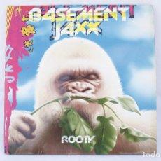 Discos de vinilo: DISCO VINILO LP - ALBUM 2 LP'S - BASEMENT JAXX - ROOTY - MADE IN ENGLAND. Lote 84173616