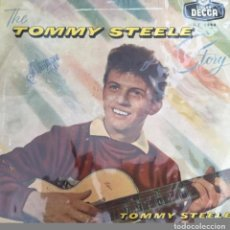 Discos de vinilo: ANTIGUO DISCO VINILO THE TOMMY STEELE STORY - LONG PLAYING SIN CARATULA SOLO PLASTICO PROTECCION. Lote 84174876