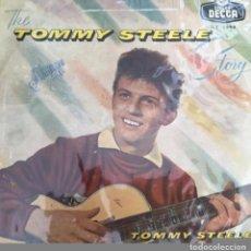 Discos de vinilo: ANTIGUO DISCO VINILO THE TOMMY STEELE STORY - LONG PLAYING SIN CARATULA SOLO PLASTICO PROTECCION. Lote 84174876