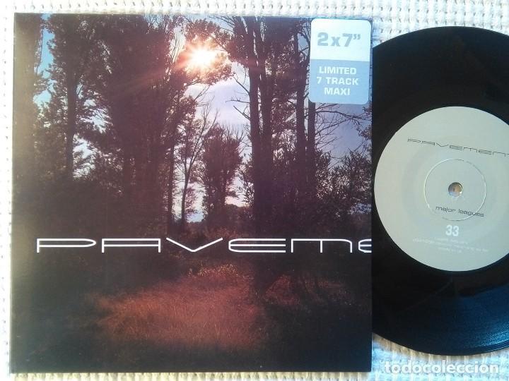 PAVEMENT - '' MAJOR LEAGUES '' 2 SINGLES EP 7'' LIMITED EDITION 1999 GATEFOLD (Música - Discos de Vinilo - EPs - Pop - Rock Extranjero de los 90 a la actualidad)