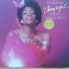 Discos de vinilo: EVELYN CHAMPAGNE KING--MUSIC BOX-RCA. Lote 84176392