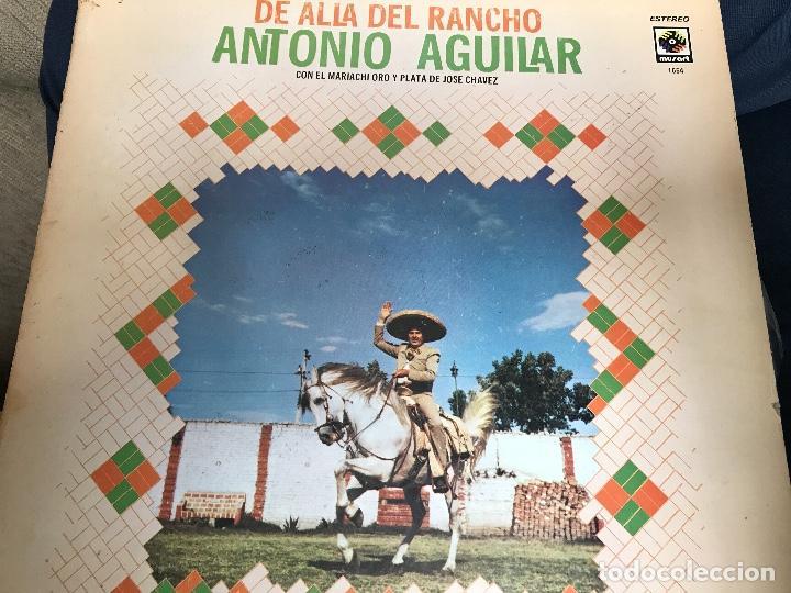 ANTIGUO LP ANTONIO AGUILAR DE ALLÁ DEL RANCHO GRANDE (Música - Discos - LP Vinilo - Grupos y Solistas de latinoamérica)