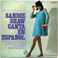 Discos de vinilo: EUROVISION 1967 - SANDIE SHAW (EP) MARIONETAS EN LA CUERDA / A LOS CHICOS LES DIRAS / .... Lote 19864353