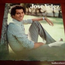 Discos de vinilo: JOSE VELEZ - VINO GRIEGO - LP - 1976 - PORTADA ABRIERTA. Lote 84204296