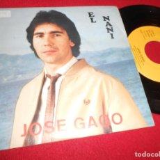 Discos de vinilo: JOSE GAGO EL NANI/BARRIO DE SAN BLAS SINGLE 7'' 1988 83 RECORD EDICION ESPAÑOLA SPAIN. Lote 84204412