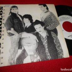 Discos de vinilo: LOS CHOLOS TODOS LOS CAMINOS/CANCION LLENA DE HORAS SINGLE 7'' 1990 TWINS EDICION ESPAÑOLA SPAIN. Lote 84204748