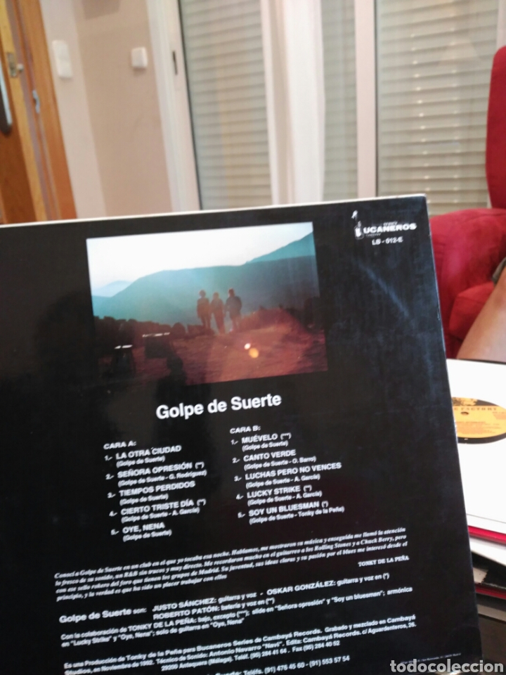 Discos de vinilo: Golpe de Suerte 1991 - Foto 2 - 83652554