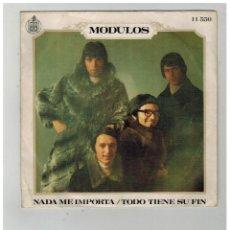 Discos de vinilo: MODULOS. NADA ME IMPORTA. TODO TIENE SU FIN. HISPAVOX. 1969.. Lote 84222920