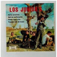Discos de vinilo: LOS JUNIOR´S. PERLA PRECIOSA. SOL DE MEDIA NOCHE. VICTORIA. 1968.. Lote 84224000