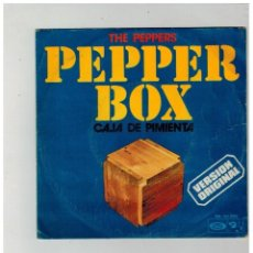 Discos de vinilo: THE PEPPERS. PEPPER BOX. CAJA DE PIMIENTA. BARCLAY. 1973.. Lote 84228224