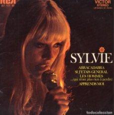 Discos de vinilo: SYLVIE VARTAN, EP, ABRACADABRA + 3, AÑO 1969 MADE IN FRANCE. Lote 84232040