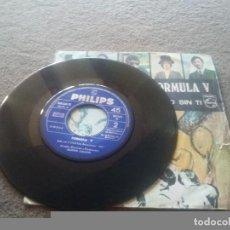 Discos de vinilo: FORMULA V (SINGLE 1969) - CUENTAME - SOLO SIN TI. Lote 84232428