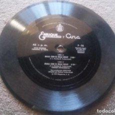 Discos de vinilo: ENRIQUE Y ANA : BAILA CON EL HULA HOOP - DISCO FLEXIBLE (HISPAVOX, 1979) SIN CARATULA. Lote 84233156