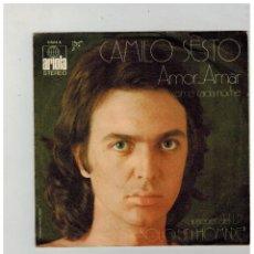 Discos de vinilo: CAMILO SESTO. AMOR ... AMAR. ARIOLA. 1972.. Lote 84233488