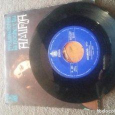 Discos de vinilo: AMINA - MOJAMACHIS / LA NOCHE Y TU - SINGLE 1971. Lote 84234240