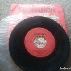 Discos de vinilo: DISCO SORPRESA FUNDADOR: LOS MISMOS (1970). Lote 84234636