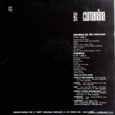 Discos de vinilo: NICOMEDES SANTA CRUZ. CUMANANA, LP ORIGINAL PERÚ. Lote 84244300
