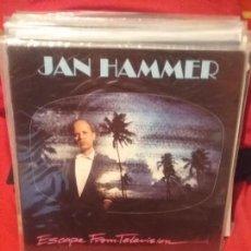 Discos de vinilo: JAN HAMMER ?– ESCAPE FROM TELEVISION. Lote 84247512