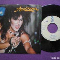 Discos de vinilo: AZUZENA - ROMPERAS +1 -SINGLE LUNA DISCOS 1989 // SANTA AZUCENA MARTIN DORADO HEAVY METAL. Lote 84250052