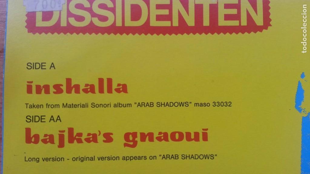 Discos de vinilo: DISSIDENTEN-INSHALLA-BAJKA'SGNAOUI - Foto 3 - 84220552