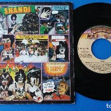 Discos de vinilo: KISS - SHANDI + SHE'S EUROPEAN - SINGLE VINILO - CASABLANCA 1980. Lote 84262400