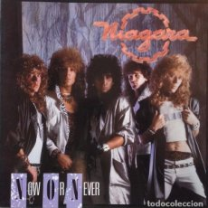 Discos de vinilo: NIAGARA - NOW OR NEVER - LP VINYL 1988 AVISPA - COMO NUEVO - NM - (SANGRE AZUL). Lote 84280076