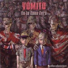 Discos de vinilo: VOMITO - EN LA ZONA ZERO -LP VINYL 2010 - SEALED - PRECINTADO (HARDCORE PUNK). Lote 84281976