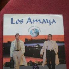 Discos de vinilo: LOS AMAYA NUEVA YORK (INCLUYE NOTA DE PRENSA). Lote 84302232