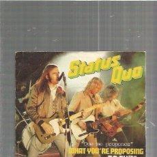 Discos de vinilo: STATUS QUO. Lote 84303468