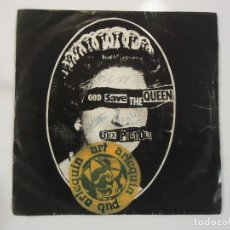 Discos de vinilo: SEX PISTOLS - GOD SAVE THE QUEEN - (ESPAÑA-VIRGIN-1977) PUNK. Lote 84315332