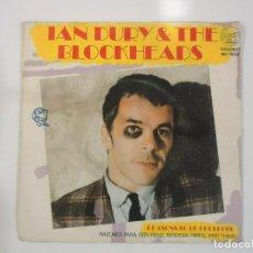 Discos de vinilo: IAN DURY AND THE BLOCKHEADS - REASONS TO BE CHEERFUL - (ESPAÑA-STIFF-1979) PUNK. Lote 84315840